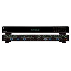 4K/UHD, 8x2 Multi-Format Matrix Switcher w/Dual HDBASE Mirrored HDMI Output