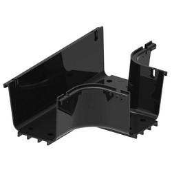 FiberGuide Fiber Management Systems; FiberGuide Product Line System: 4x4 System Horizontal T Number of Junctions: 3 Color: Black