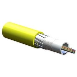 Câble, Riser, 144 fibre monomode (OS2) ruban
