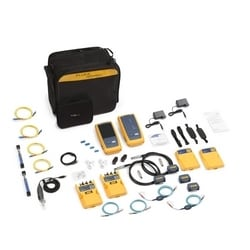 2 GHz DSX-8000 Cat 8 CableAnalyzer, Wi-Fi enabled Versiv2 Main & Remote, DSX Cat 8 Copper (2) modules, Quad OLTS (2) modules, Inspection camera, 1 year Gold Services