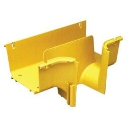 FiberGuide Fiber Management Systems; FiberGuide Product Line System: 4x6 System Downspout Type: Insertable Number of Junctions: 2
