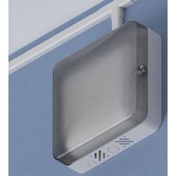 "11"" ABS WAP Lock-box: T-bar, Translucent door"