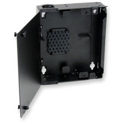 Single-Panel Housing, wall-mountable, holds 1 CCH connector panel