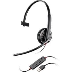 Cordon USB Headset, BLACKWIRE C310M, Monaural, optimisé pour Microsoft Lync(TM) 2010 et Microsoft OCS 2007, certifié Skype