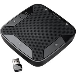 Bluetooth Speakerphone, Windows or Mac OS, Bluetooth v2.1 + EDR, 7 Hour Talk Time, 6800 Hz Frequency, Connects to PC Via USB Adapter, Microsoft Lync