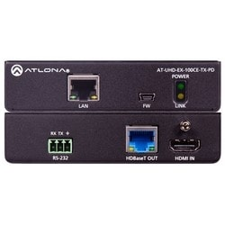 4K/UHD Remote Powered HDMI Over 100 M HDBaseT Transmitter with Ethernet, Control, and PoE