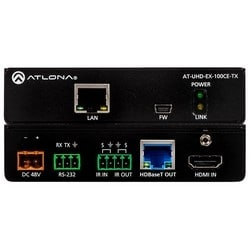 4K/UHD HDMI Over 100 M HDBaseT Transmitter with Ethernet, Control, and PoE