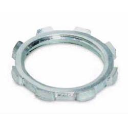 6 Inch Locknut, Aluminum, For Use With Rigid/IMC Conduit