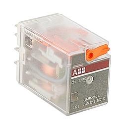 Relais enfichable, avec LED, 3 c/o Contacts, 250V, 12 a, 120 V AC bobine