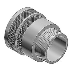 Spin-on Series II Connector, Aluminum, 2-1/2 Inches Hub Size, Cable Range Over Armor 2.151-2.270 Inches.