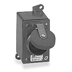 de4c723f40cf THOMAS & BETTS | 3744-RS Receptacle, FD 10 Amp, 3 Pole 4 Wire, 600VAC,  Screw Cap