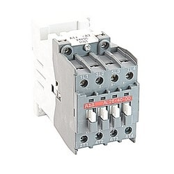 AL26 40 AC & 30 DC operated block contactor, UL rated, 4 pole - 4 NO power poles