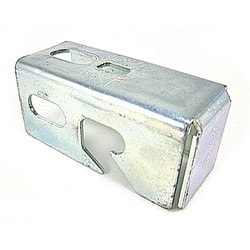 Connector End Mount, Electro-galvanized Steel, For Use With 3/8 Inch And 1/2 Inch Threaded Rod