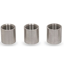 PVC Coated Coupling, Coupling Size 1 Inch Type 316 Stainless Steel