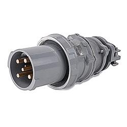MaxGard Male Plug, 60 Amp, 4 Pole 5 Wire, 30 220/380V, 60Hz