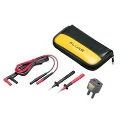 Digital Multimeter Test Lead Kit, Stray Voltage Adapter, Cat III 1000 Volt, Cat IV 600 Volt, 2000 Meter Operating Altitude, 3000 Ohm Resistance