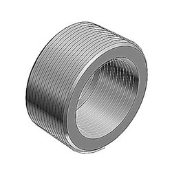 3-1/2 Inch To 2-1/2 Inch Reducing Bushing, Steel Zinc Plated