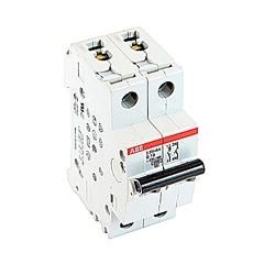 Mini disjoncteur UL200 S1077, 1 pole et neutre B voyage, amp 10