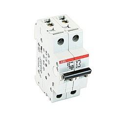 Mini disjoncteur UL200 S1077, 1 pole et neutre B voyage, amp 6