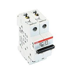 Mini disjoncteur UL200 S1077, 1 pole et neutre C voyage, amp 25