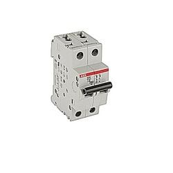 Miniature Circuit Breaker, 2 Pole, 480Y/277 V AC, Tripping characteristic C (0.5A @ 30 deg C)