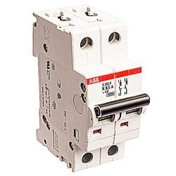 Mini circuit breaker S200P UL1077, 2 pole 480/277V K trip, 0.5 amp