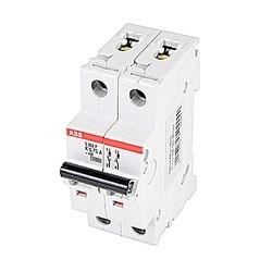 Mini circuit breaker S200P UL1077, 2 pole 480/277V K trip, 0.75 amp