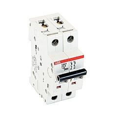 Mini circuit breaker S200P UL1077, 2 pole 480/277V Z trip, 2 amp