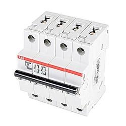 Mini disjoncteur UL200 S1077, 3 pole et neutre C voyage, amp 50