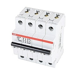 Mini circuit breaker S200 UL1077, 3 pole plus neutral D trip, 16 amp