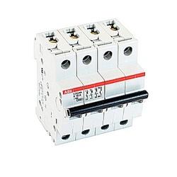 Mini circuit breaker S200 UL1077, 3 pole plus neutral K trip, 10 amp