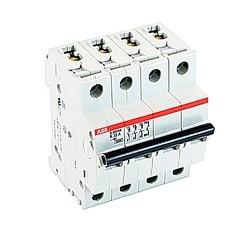 Mini circuit breaker S200 UL1077, 3 pole plus neutral K trip, 32 amp