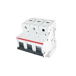 S800S high performance miniature circuit breaker, 3 poles, K characteristic, 80A 50kA 230AETBC400 V AC with interchangeable cage terminal, temperature compensation