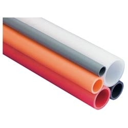 "HDPE, SDR 11, 3/4""            SMOOTH OUT / RIBBED IN        ORANGE, PULL TAPE"