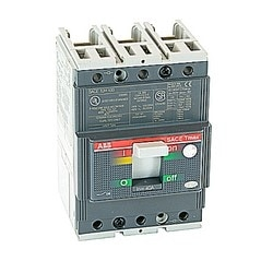 Molded Case Circuit Breaker, T2 frame, high interrupting, 3 Pole, 40 A, Thermal Magnetic Trip Unit