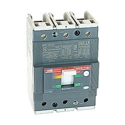 Molded Case Circuit Breaker, T3 frame, normal interrupting, 3 Pole, 175 A, Thermal Magnetic Trip Unit