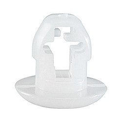 """Cable Tie Snap-In Mounting Base Cap .445x.415"""" Natural Nylon 6.6 Push Mount Mounting- .250 Stud For Use with Cable Ties Up to 50 lbs."""