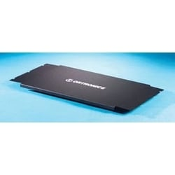 Dust Cover, 594 MM W x 283 MM D x 14 MM H, Cold Rolled Steel, For Rack