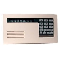 "Intrusion Alarm SystemVFD Keypad, 12V DC, 104 Milliampere, 4.6"" x 8.2"" x 0.8"" Size, Off-White Classic Case"