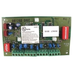 Intrusion Alarm System Eight-Pont Expander Module, 12V DC, 25 Milliampere (Standby) 50 Milliampere (Alarm), 100 Ohm Resistance, Panel Mount, 0 to 49 Deg C