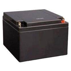 Alarm System Battery, 12V DC, 7.8 Ampere, Rated Capacity 27 Amp-Hr, Flat Pole, ABS Plastic, 16.6 CM W x 17.5 CM D x 12.5 CM H, 9.5 Kilogram Item Weight