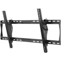 """Tilt Wall Mount, 200 Lb Load, 36,54"""" Width x 2,62 to 5,4"""" Depth x 16,89"""" Height, Powder Coated, Semi-Gloss Black, For 39 to 80"""" Flat Panel Display"""