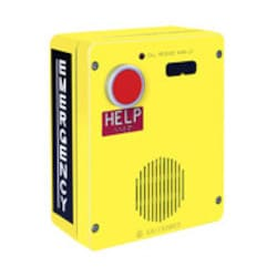 Téléphone d'urgence, seule touche, Valox, ECT Option montage en surface