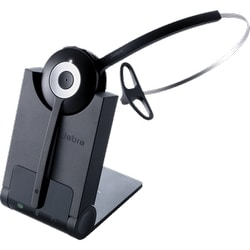 PRO 920, Headset and Base, Noise Canceling, US DECT, 1.9GHz technology, Connects to a standard deskphone. Supports a wireless range of up to 325 feet.  Includes earhook and headband wearing styles.
