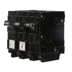Miniature Circuit Breaker, Common Trip, Thermal Magnetic, Plug-In, 3 Pole, 240 Volt AC, 100A, 10 kA Interrupting Rating