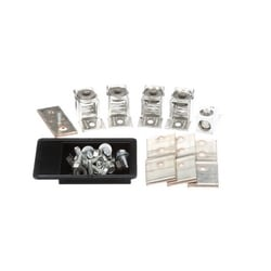 Panelboard Lug Kit, Main/Feed-Through, 400A, 3 Phase, 1/0 to 4/0 AWG or 1/0 AWG to 600 KCMIL, Copper Conductor, For 3 Phase System Rated P1 Series Panelboard