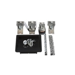 Panelboard Lug Kit, Main/Feed-Through, 250A, 3 Phase, 6 AWG to 350 KCMIL, Copper Conductor, For P1 Series Panelboard