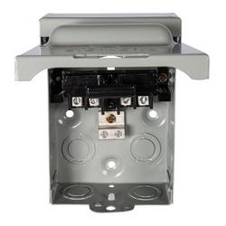 Galvanized Steel Enclosure Material; UL Approval; 240 V Voltage Rating; NEMA 3R Enclosure; 60 amp Current Rating; 10 HP Power Rating