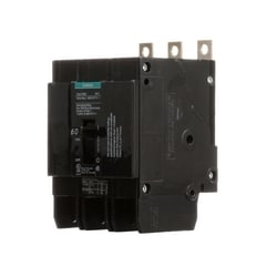 Molded Case Circuit Breaker, Thermal Magnetic, 3 Pole, 480 Volt AC, 60A, 14 kA Interrupting Rating