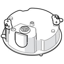 Boîtier d'encastrement pour série OpteraTM IMM, Indoor, Vandal, In-ceiling Mount, noir pour OpteraTM IMM série Range IP caméras Plenum évalué